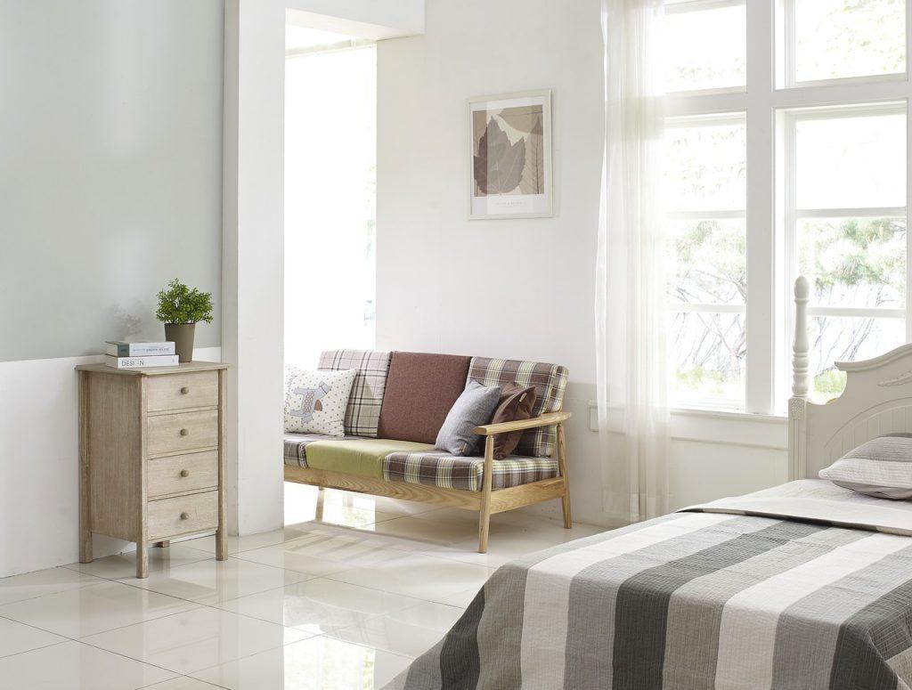 寝室の採光計画