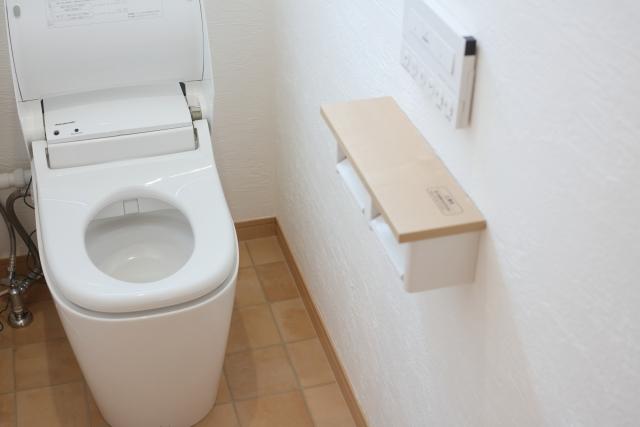 掃除のしやすいトイレ