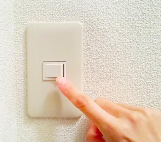 生活を考えた電気スイッチの配置
