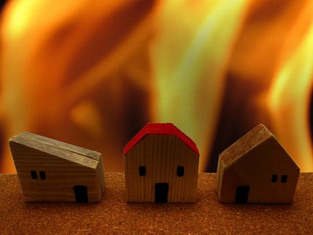 タマホーム、火災、耐える家