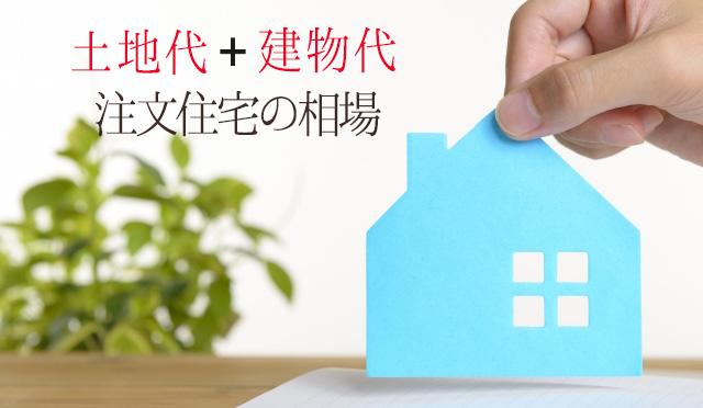 土地購入も含む注文住宅の相場