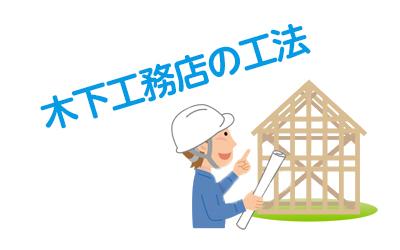 木下工務店の工法