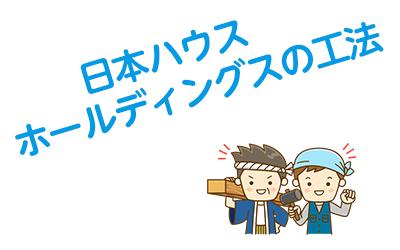日本ハウスホールディングスの工法